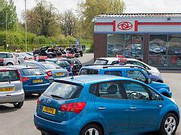 Philip Paul car centre Forecourt